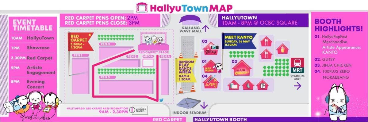 Introducing HallyuTown + WIN Red Carpet Passes for HallyuPopFest 2019!