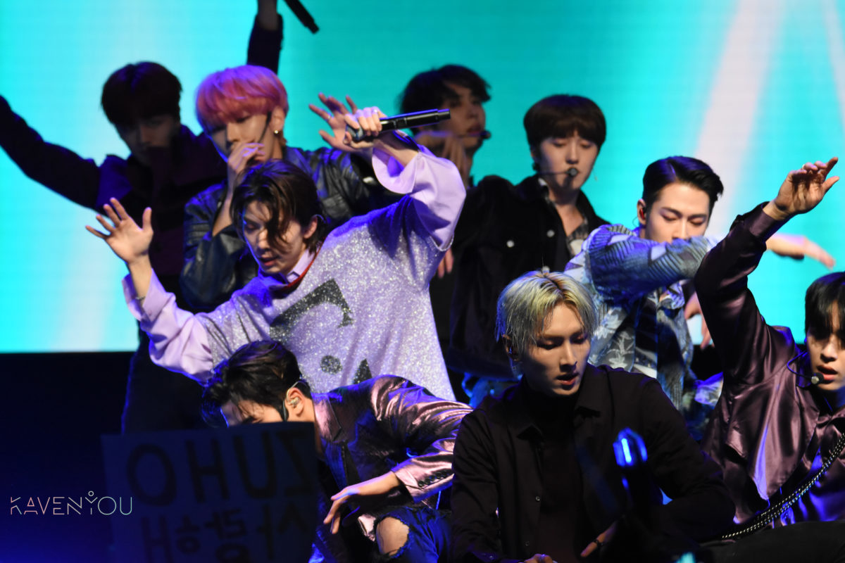 SF9 gift fans with a sensational night in Paris
