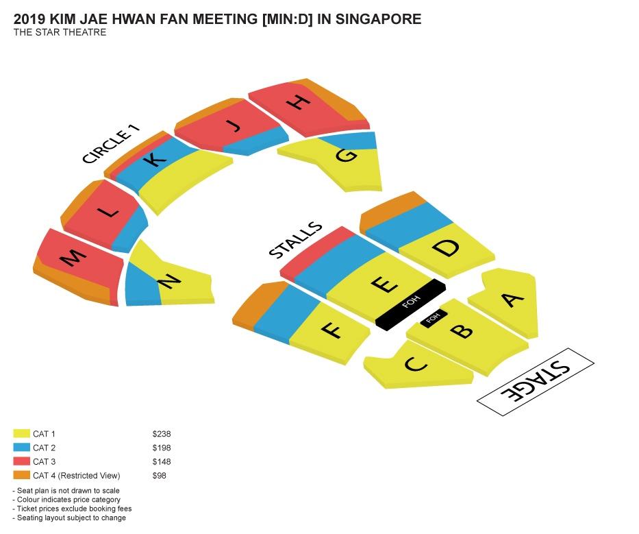 [EVENT] 2019 KIM JAE HWAN FAN MEETING [MIN:D] in Singapore