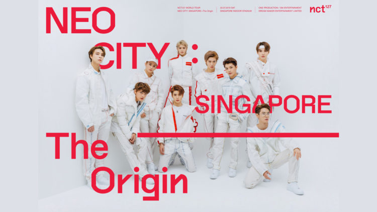 NCT 127 to bring 1st World Tour 'NEO CITY - The Origin' to Singapore on 20 July