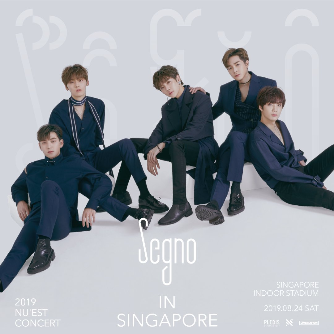 NU'EST to say Hello to Singapore fans with Segno concert