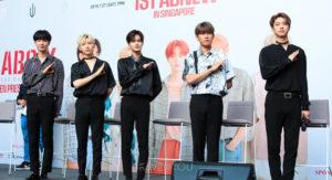 AB6IX Singapore press conference