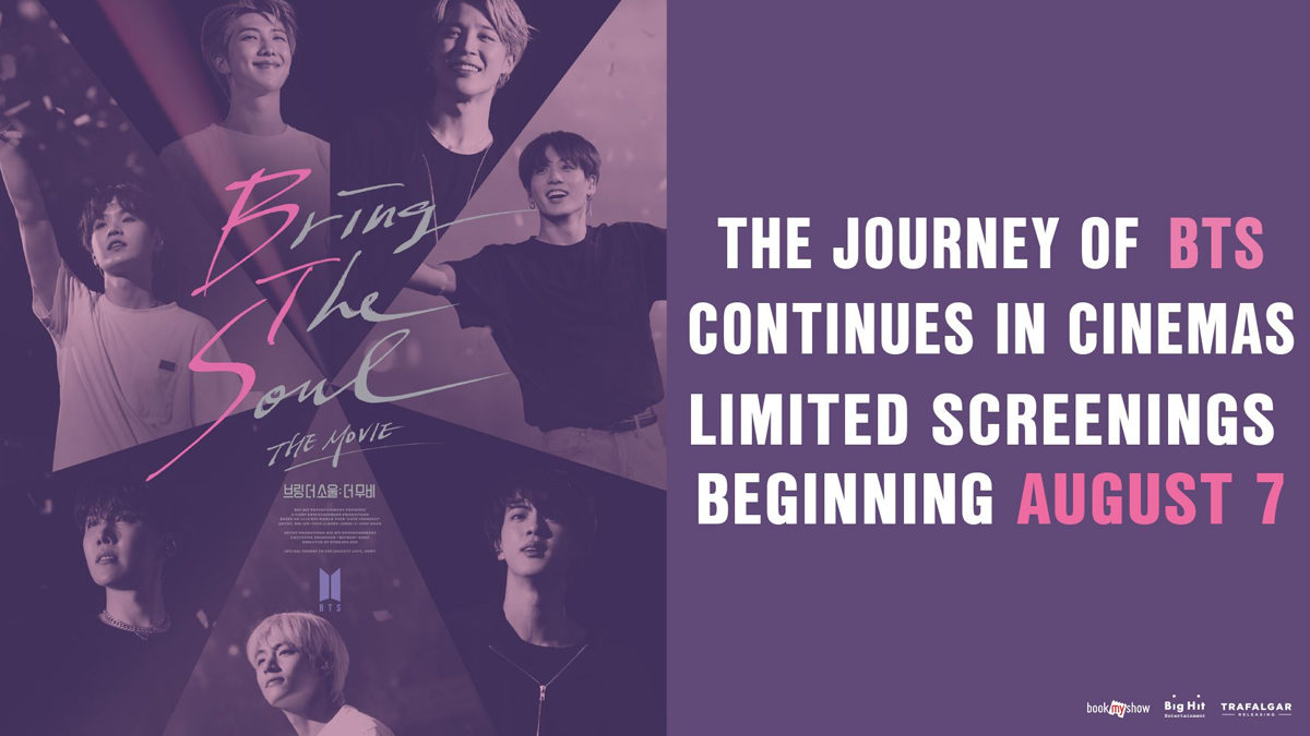 BTS (the movie) to invade Singapore cinemas from 7 August