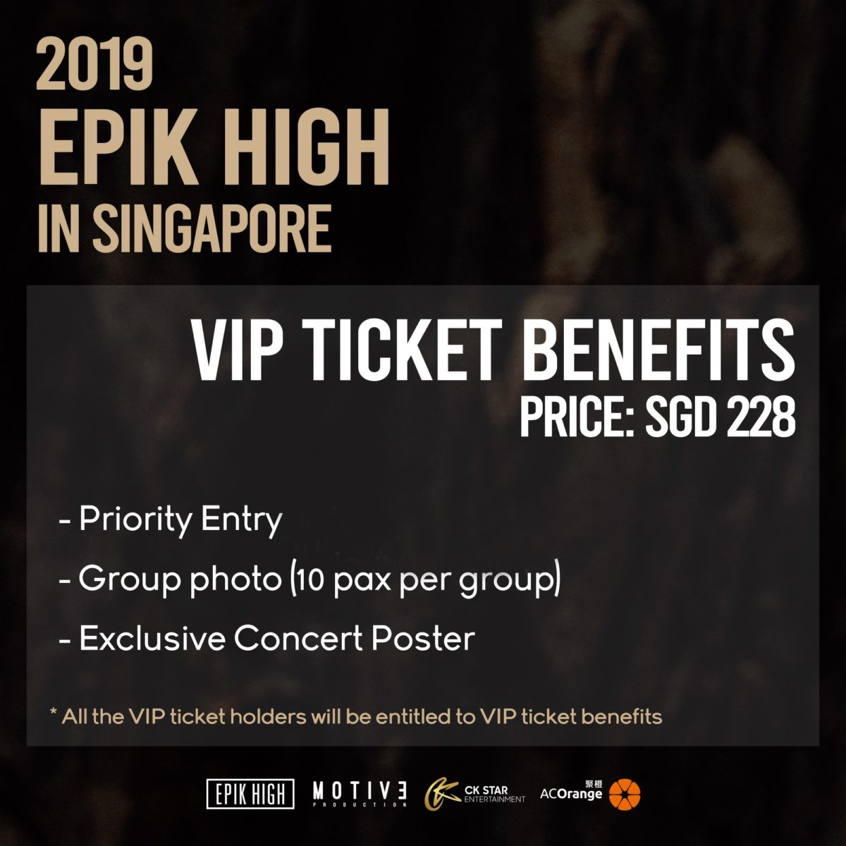 EPIK HIGH to make fans sleepless in Singapore with solo concert