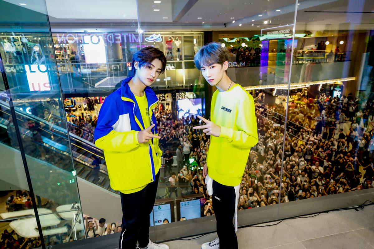 SKECHERS JEWEL Changi Airport NEXT Xinchun Minghao