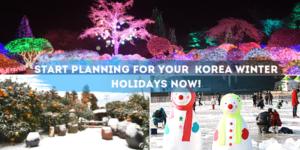 Winter in Korea Itinerary Tour Wanderlust