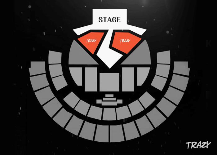 k-world festa 2019 kpop music awards seating map