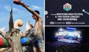 Boryeong Mud Festival 2019 MBC KPop Super Concert
