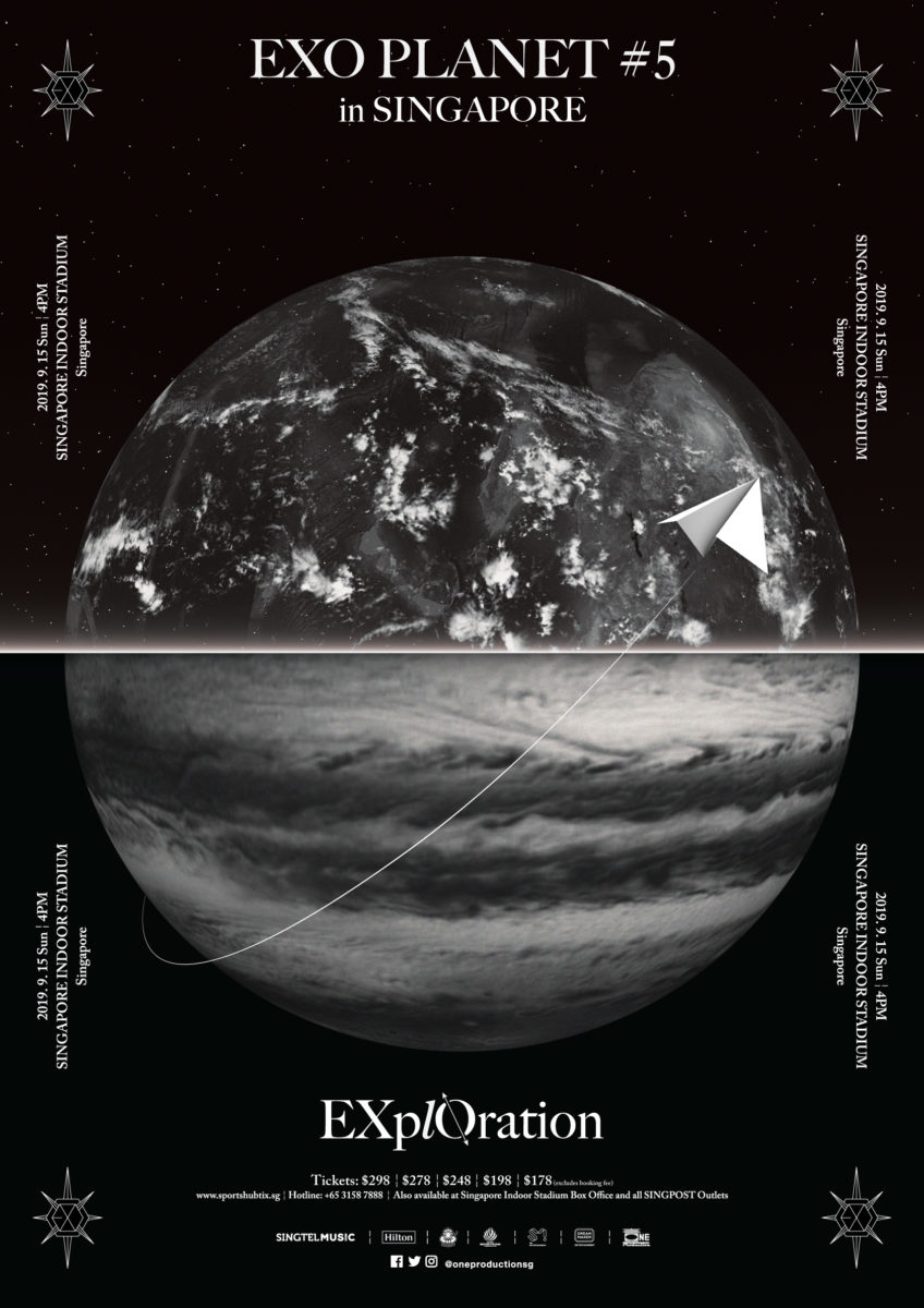 EXO to return to Singapore with EXO PLANET #5 – EXplOration this September