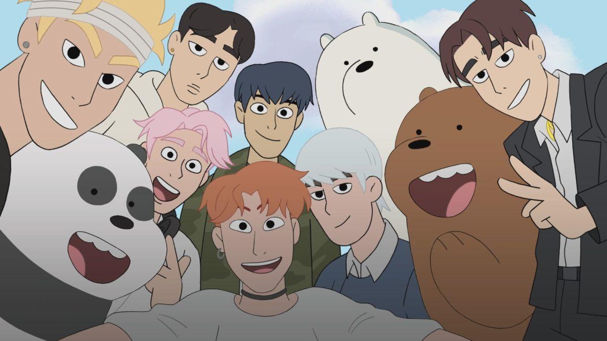 we bare bears monsta x