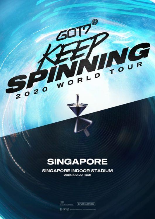 GOT7 Keep Spinning World Tour Singapore Concert