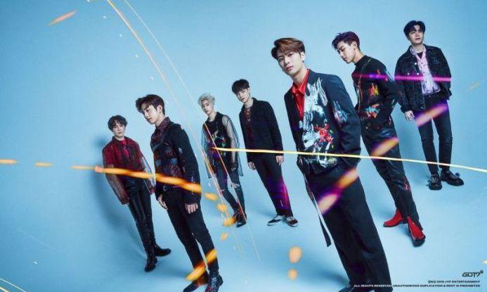 got7 keep spinning world tour singapore concert 2020