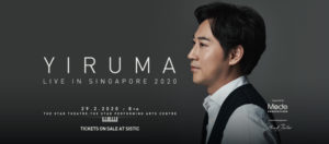 Yiruma returns to Singapore for a brand new concert in February 2020