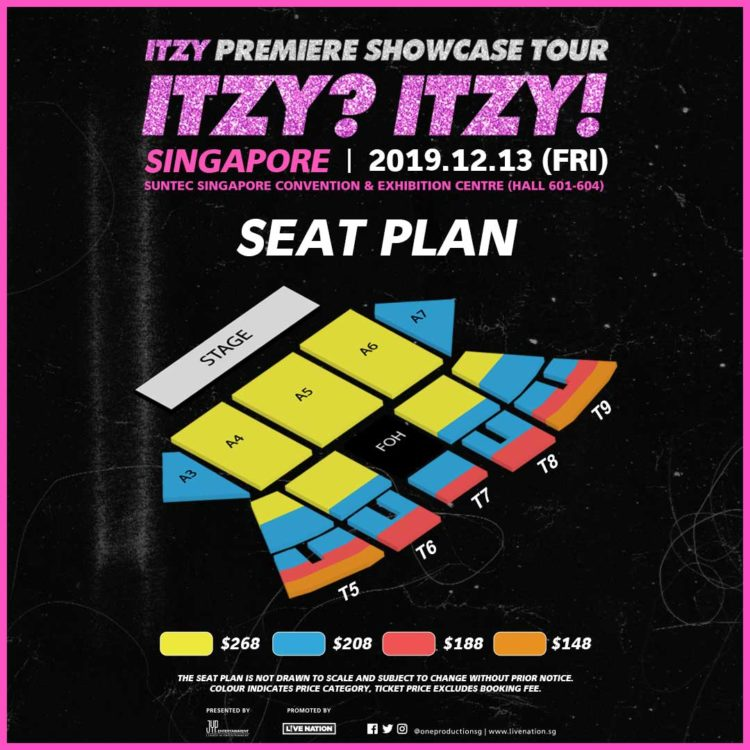 ITZY to bring Premiere Showcase Tour 'ITZY? ITZY!' to Singapore