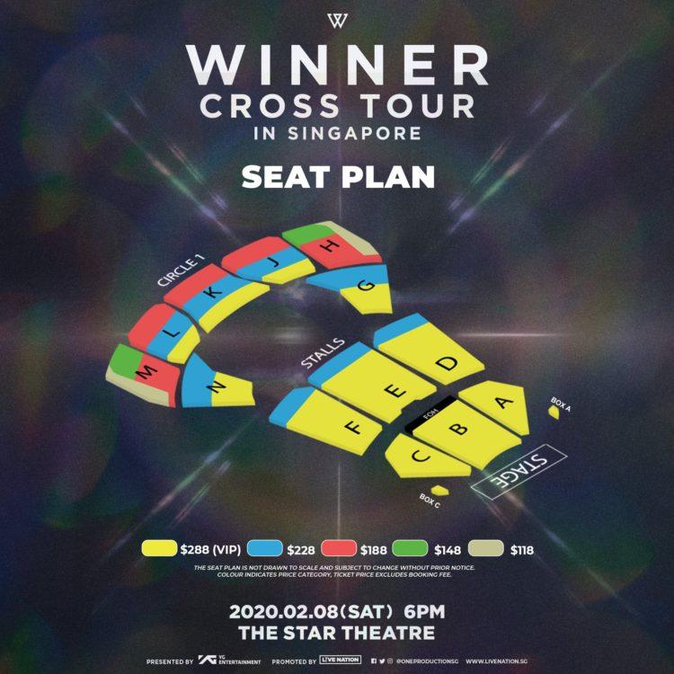 WINNER to return to Singapore in 2020 for WINNER CROSS TOUR