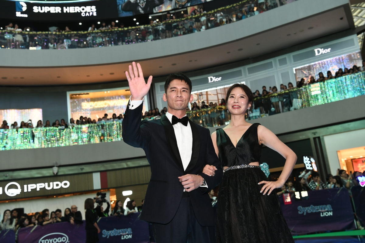 Starhub Night of Stars James Wen 溫昇豪 and Tian Xin 天心 Best Interest 最佳利益