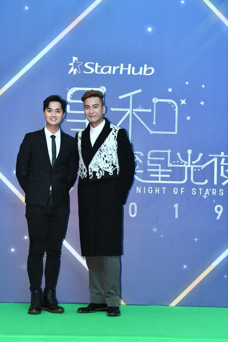 Starhub Night of Stars Fred Cheng Fred Cheng 鄭俊弘 and Kenneth Ma 鄭俊弘 and Kenneth Ma 馬國明 Big White Duel 白色强人