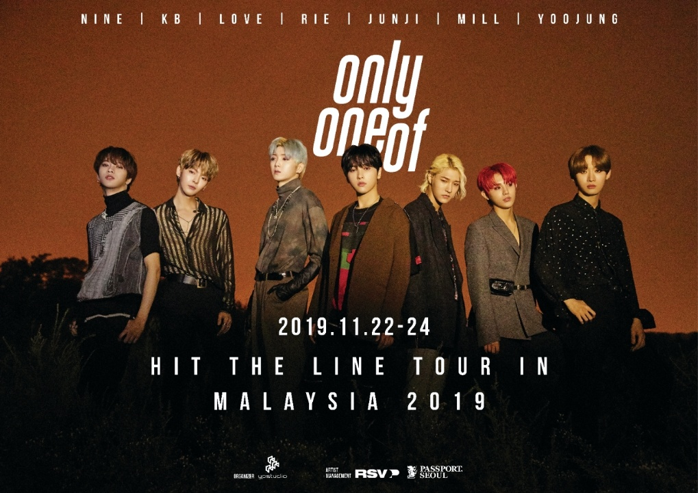 OnlyOneOf 'Hit The Line' Tour in Malaysia 2019