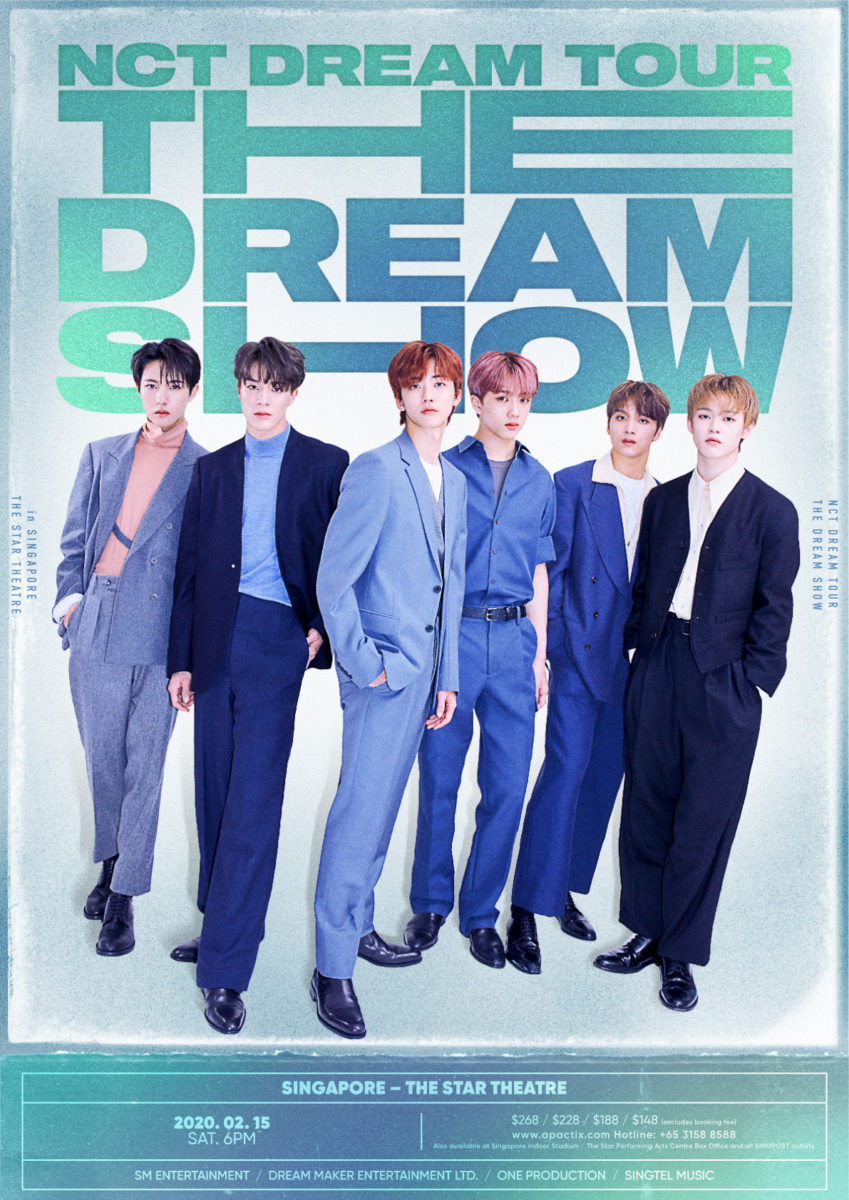 "[POSTPONED] NCT DREAM to hold first solo concert tour NCT DREAM TOUR ""THE DREAM SHOW"" in Singapore"