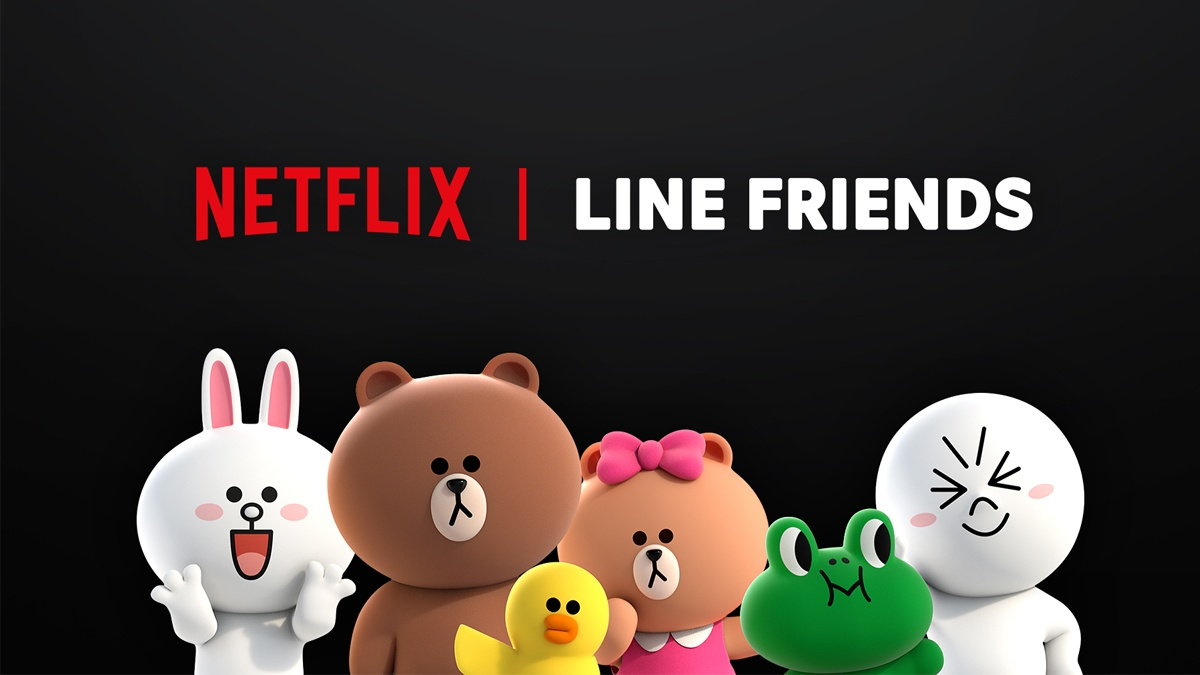 LINE FRIENDS characters to be featured in Netflix original series