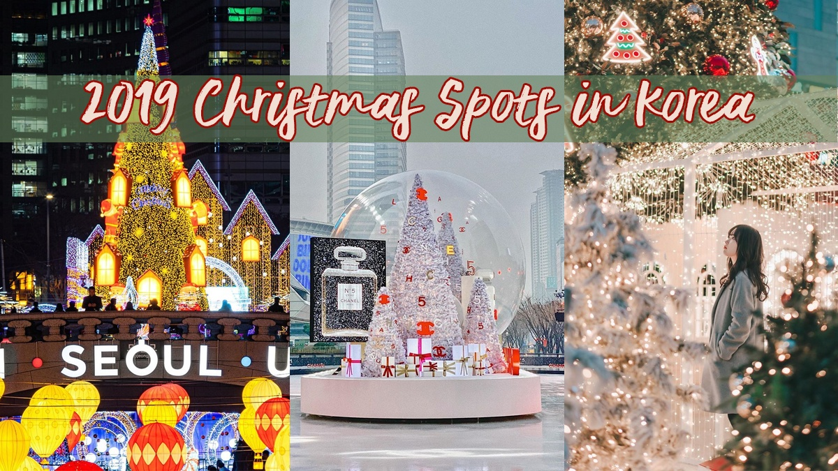 Must-visit 2019 Christmas installations and spots in Korea