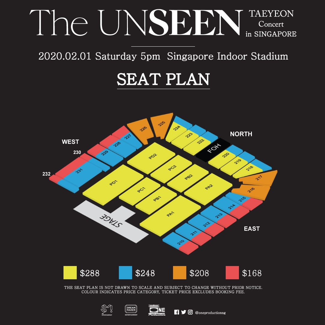 [POSTPONED] Taeyeon returns to Singapore in 2020 with TAEYEON Concert – The UNSEEN – in SINGAPORE!