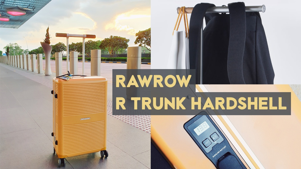 Say goodbye to travel woes with RAWROW R Trunk Hardshell