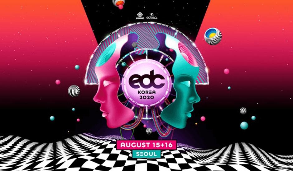 EDC Korea Festival 2020 poster