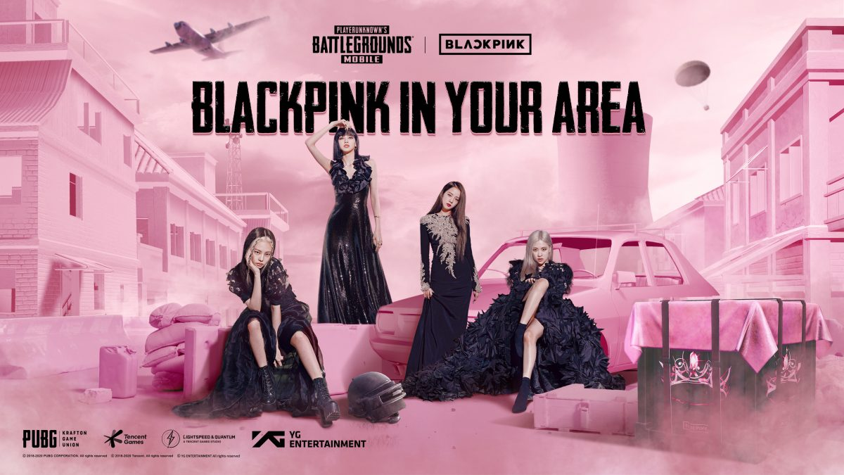 BLACKPINK PUBG MOBILE